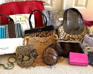Authentic Designer Handbags - Gucci, Kate Spade, Coach, Marc Fisher and more!!!
