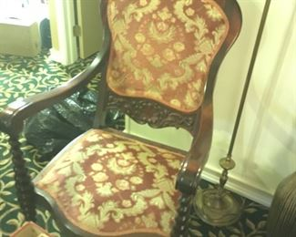 . . . a nice vintage side chair