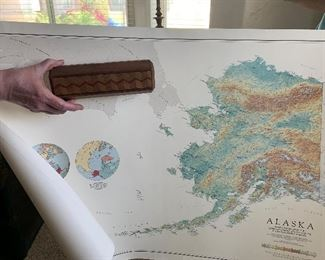 wooden created box from Alaska 10.00