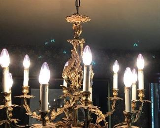 Fine French style chandelier
