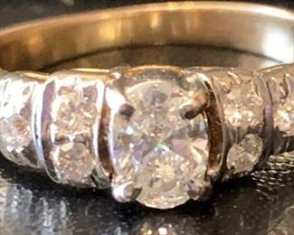 Beautiful Vintage Diamond Ring