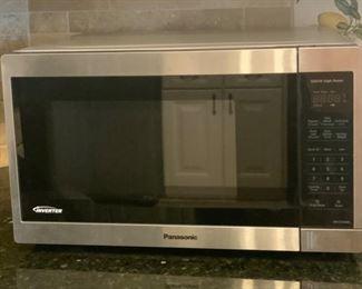 "$75- Panasonic Microwave. 29""W x 15""D x 1ft'H"