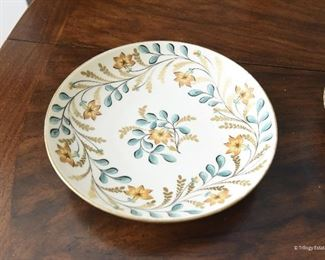 """Copeland Spode Saucer $8 leaves, flowers and gold branches. 6.125"""""""