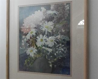 """Watercolor  $48 Approximate OD of frame 14"""" x 20"""""""