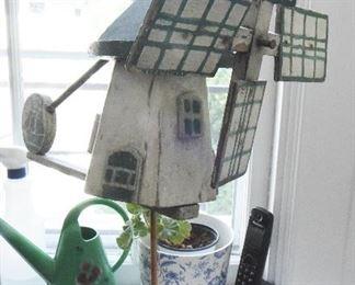 Primitive Style Windmill Weather Vane  $25