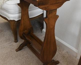 Primitive Style Wood Stand $28