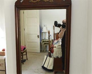 "Kindel Golden Eagle Mirror  $65 Approximately 20"" x 30"""