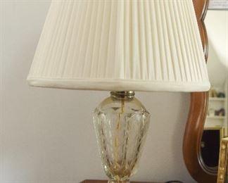 Glass Lamp  $30