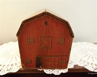 "Vintage Barn Toy  $40 13"" x 7.5"" x 8.5"" tal"