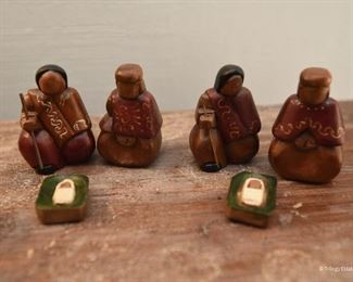 Two Joseph, Mary & Jesus Set  $10 each Made in Ecuador