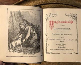 Vergissmeinnicht, published in 1889, Pennsylvania $28