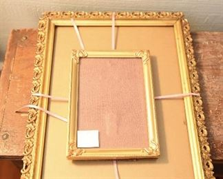 Two Gold Edge Frames $10