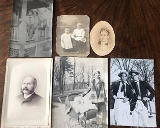 Lot of 6 Antique Pictures $10
