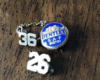 Bentley '26 Pin $5