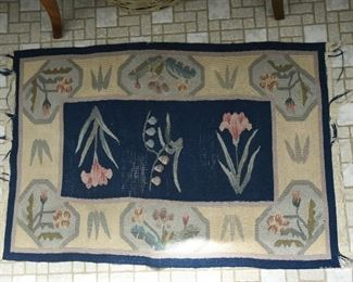 Woven floor mat  $15