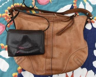 Vintage Bags.   Large $15   Small Wallet Purse  $5