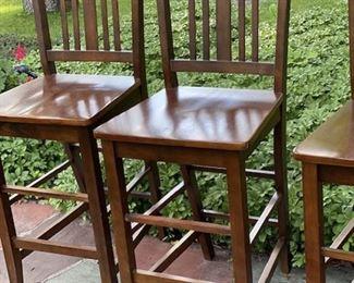 Four Tavern Chairs  $80