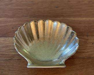 Pickard Gold Shell Trinket Dish  $10