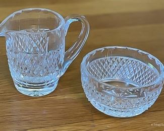 Waterford Pitcher and Bowl $10 each