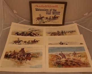 "Lot# 2213 - CM Russel ""Watercolors of th"