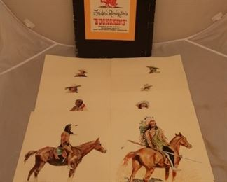 "Lot# 2214 - Frederic Remington's ""Bucksk"