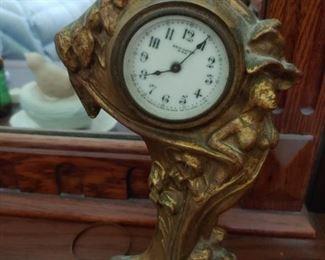 art nouveau clock.