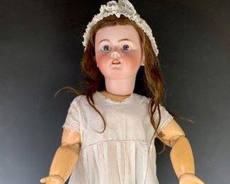 "31"" French Tete Jumeau Doll C. 1899"