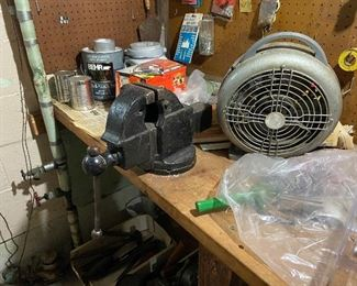 Vise and Heater
