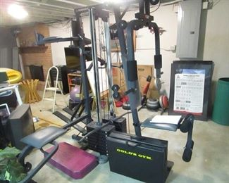 Weider multi-station dual stack power guide complete fitness center