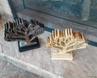 Tree of life wooden carvings