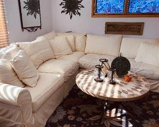 Arhaus cozy sectional