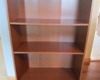 Three-shelf bookcase