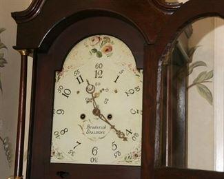 "TALL CASE  CLOCK CIRCA 1780'S  ""BRODERICK"", SPALDING, UK"