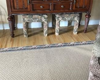 Long wood console ( great room) $ 295.00