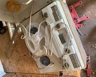 Vintage reel player