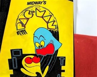 Pacman Midway home arcade