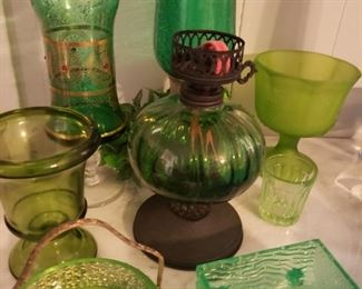 more green glass