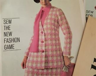 vintage sewing patterns and booklets