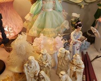 dolls, nativity