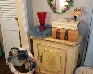 Side tables and cabinets