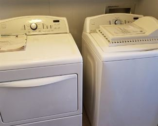 washer and dryer, work great, we have been using them