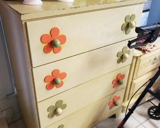 can't get more 70's than this dresser!