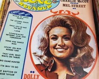 Country music magazines from the 70's