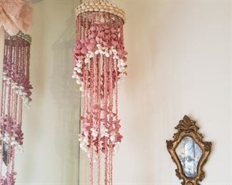 hanging shells..so 70's and pink of course!