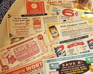 coupons from 1958!