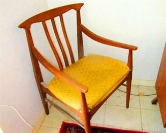 Mid Century Teak Chairs  8 each  $800 for all