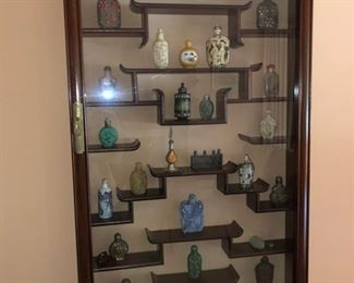 Asian display case