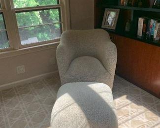 j robert scott chair and ottoman