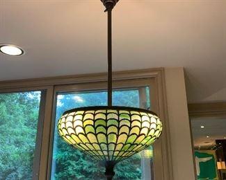 Signed Tiffany Lamp (modified)