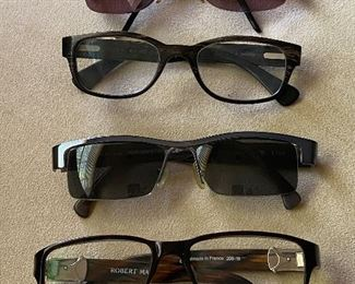 Eyeglasses (partial photo) - Robert Marc, Alain Mikli